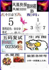 福彩第089期