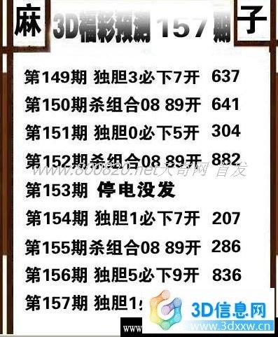 3D定胆及杀号公式公布 免福彩3d杀号定胆 费查看不赔不赚!